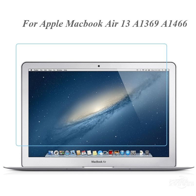 Laptop Glasses for Macbook Air 13 Glass Screen Protector Model NO. A1369 A1466  0.3MM 9H Clear Anti-scratch Protective Film