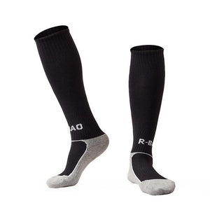 10 colors kids boy Sport Baseball Football Soccer Plain Long Socks Over Knee High Sock Hockey Boys Soccer Sock