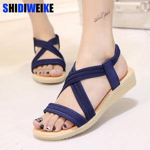 New Summer Women Sandals Bohemia Comfortable Ladies Shoes