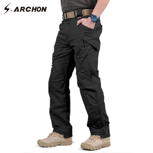 Military Tactical Cargo Pants Men SWAT Combat Army Trousers Male Casual