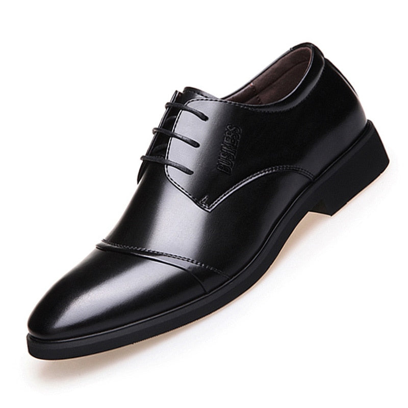 2019 new men's shoes selling high-quality shoes Leather