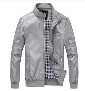 Quality Bomber Solid Casual Jacket Men Spring Autumn Outerwear