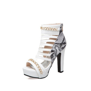MORAZORA 2019 hot sale gladiator sandals women hollow out summer shoes