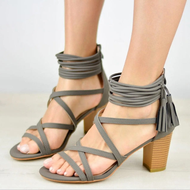 MORAZORA 2019 new arrival women gladiator sandals flock summer shoes