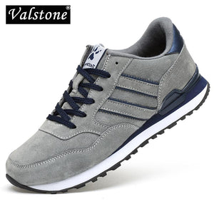 Valstone Men's Spring Genuine Leather Sneakers 2019 waterproof