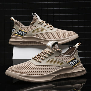 2019 New Mesh Men Sneakers Casual Shoes