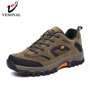 VESONAL 2019 New Autumn Winter Sneakers Men Shoes Casual Outdoor Hiking Comfortable