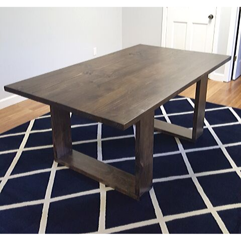 husky wood conference table