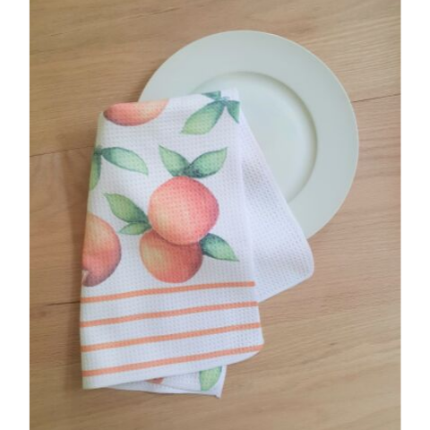 craving citrus kitchen towel