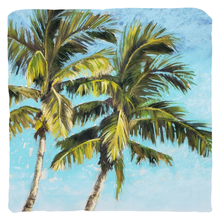 Load image into Gallery viewer, Throw Pillow - Twin Palms