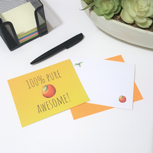 Load image into Gallery viewer, Gratitude Note Cards - Craving Citrus (Set of 4)
