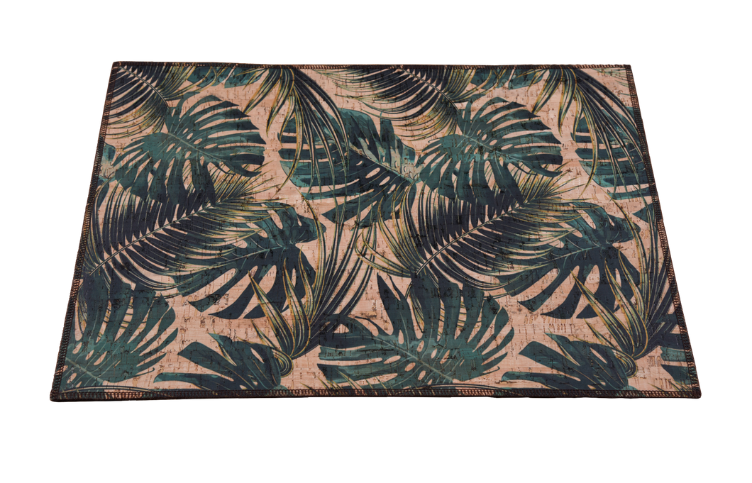 Cork Placemats - Palm Breeze