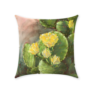 Throw Pillow - Cactus