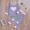 Girl Heart Long Sleeve Pajamas