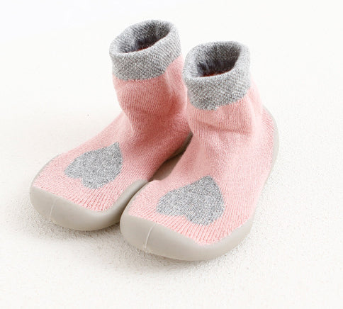 Rubber Soles Cartoon baby Shoes