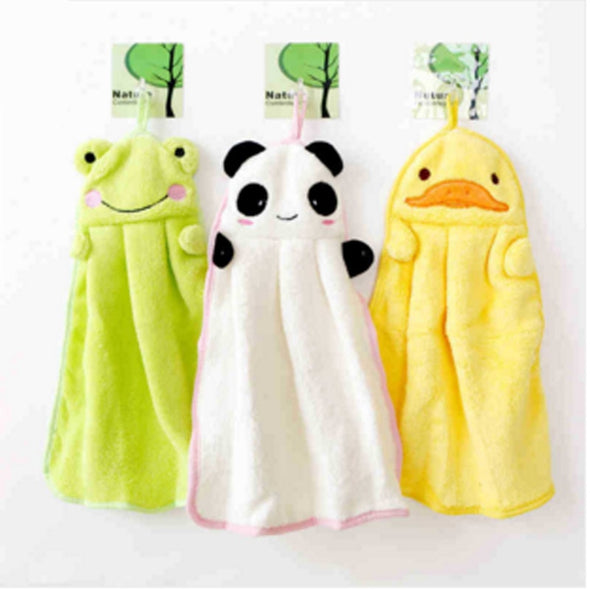 Girls Cartoon Nursery Bathing Towels