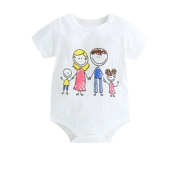 Baby Boy Cartoon Pajamas