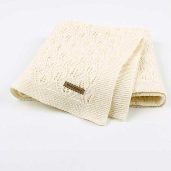 Baby Knitted Stroller Swaddle