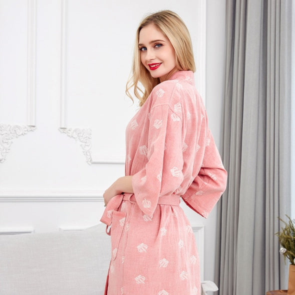Nightgown Sexy Bath Robe