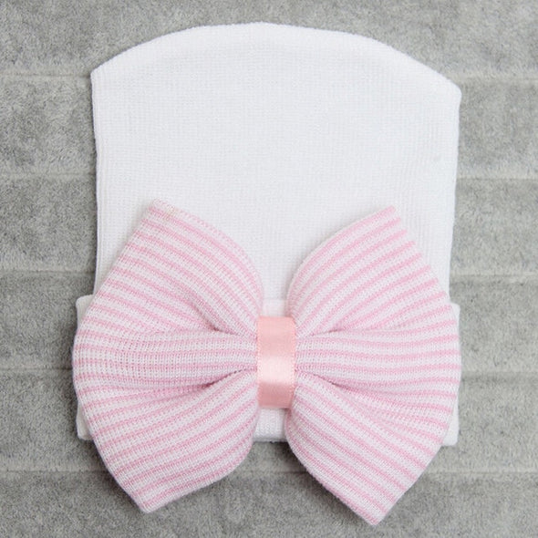 Girls Striped Soft Headband
