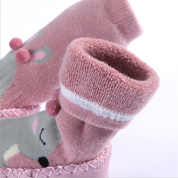 Thick Terry Cotton Baby Girl Sock