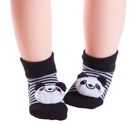 Cotton Cartoon Baby Socks