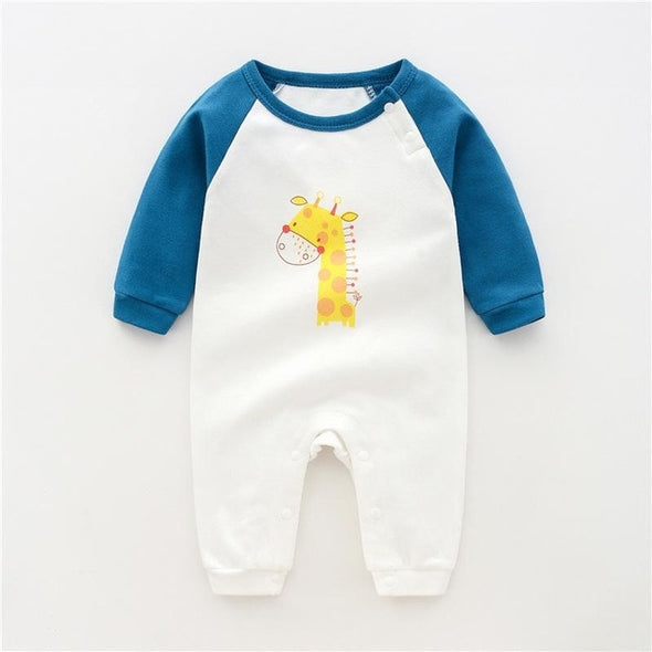 Baby Rompers Long Sleeve Pajamas