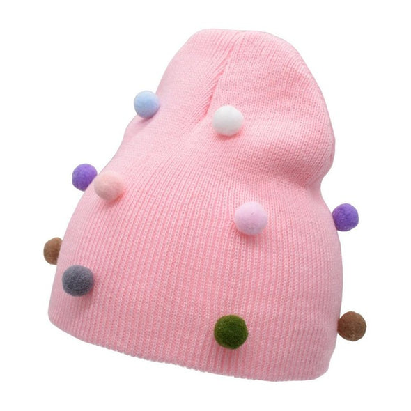 Cute Girls Winter Beanie Cap
