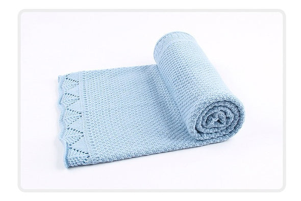 Knitted Summer Baby Blankets
