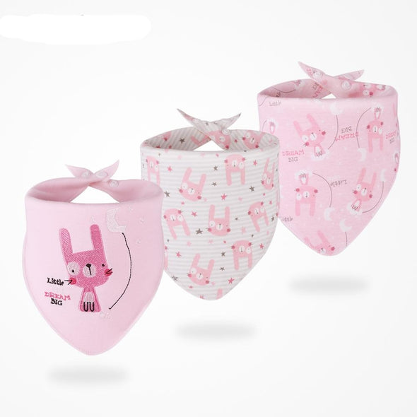 Baby Bib Sets 3pcs/set