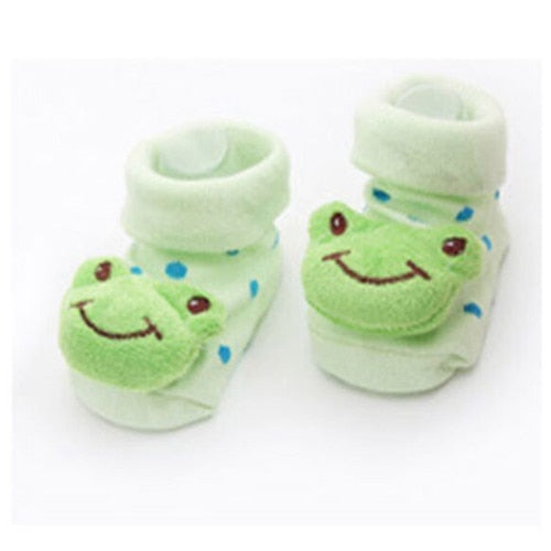 Cute Anti Slip Cotton Socks Shoes