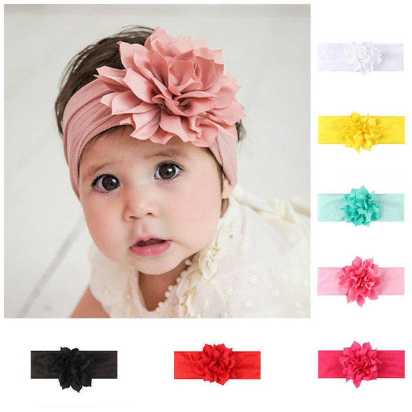 Lovely Girl Flower Headband