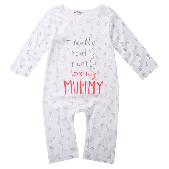 I love Mum Bodysuit Cotton One pieces
