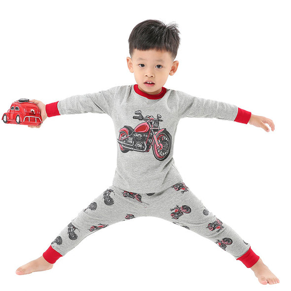 Boys Long Sleeve Batman Pajamas