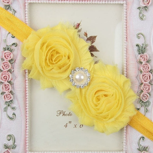 Flower Baby Girl Headband