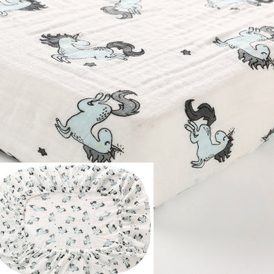 Soft Breathable Crib Sheets