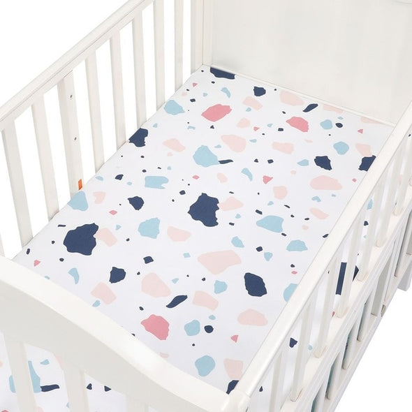 Baby Girls Fitted Crib Sheet