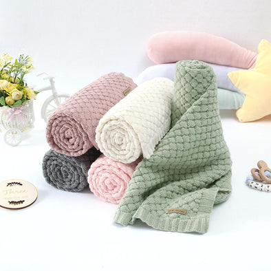 Boys Girls Knitted Swaddle