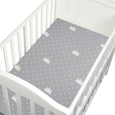 Geometric Tree Fitted Crib Sheets