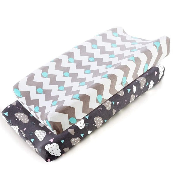 2pcs Cotton Changing Pad Cover Set