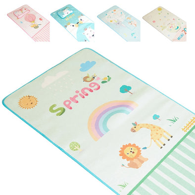 Baby Girls Cartoon Cotton Soft Cute Urine Pad 2Pcs