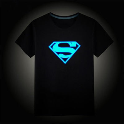 Boys Luminous Short Sleeves T-Shirts