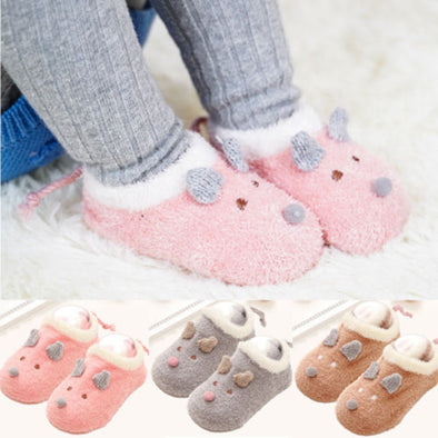 Baby Girl Cartoon Animal Pattern Socks