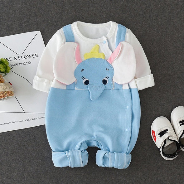 Elephant Cotton Covered One Piece