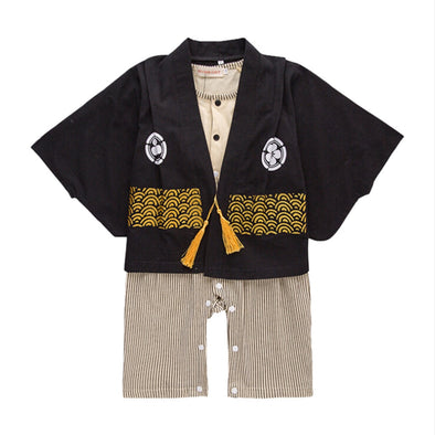 Long Sleeved Boy Kimono Sets