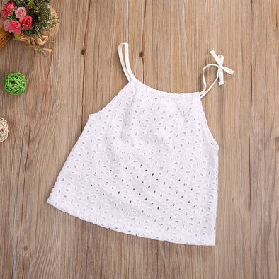 Crochet Lace Girl Top