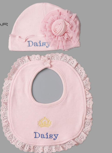Baby Bib Beautiful Hat