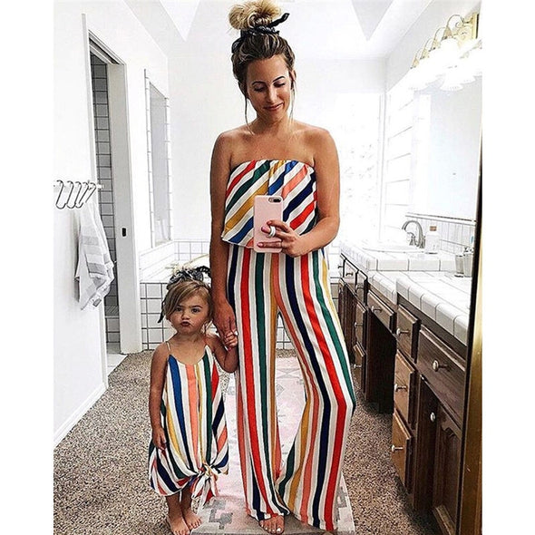 Romper Mother and Daughter Matching Dresses