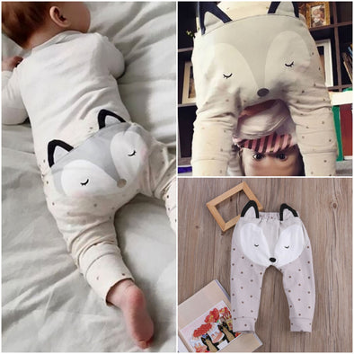 Cute Infant Baby Boys Fox Bottom