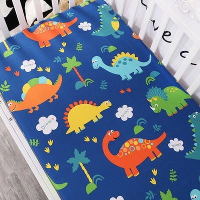 Baby Boy Mattress Crib Sheet